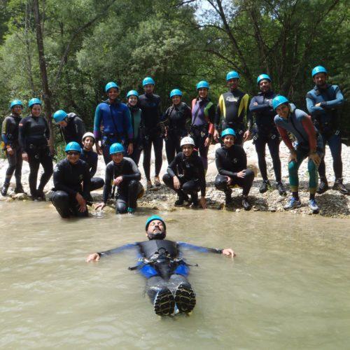 Un tuffo dove l'acqua è più blu - Canyoning Adventure